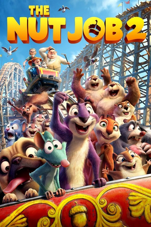 دانلود انیمیشن The Nut Job 2: Nutty by Nature 2017