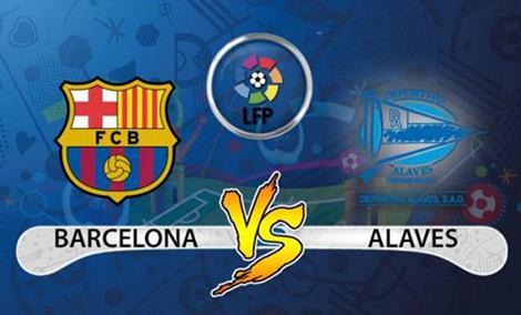 نتیجه بازی بارسلونا و آلاوز 4 شهریور 96 + خلاصه بازی