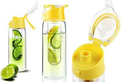 بطری آب طعم دهنده میوه ای دتاکس واتر