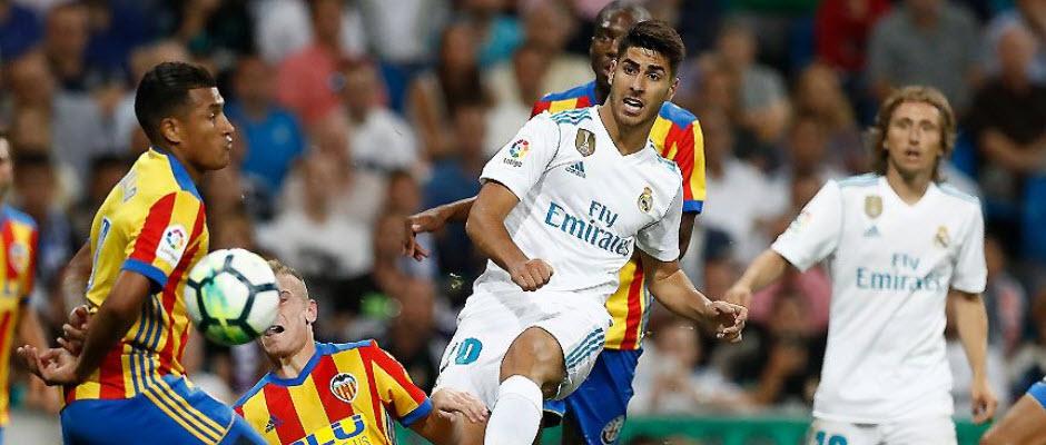 رئال مادرید 2-2 والنسیا؛ آسنسیو در نقش رونالدو