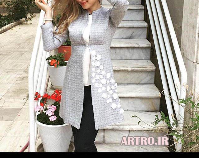 مدل مانتو های شیک دخترانه 2018