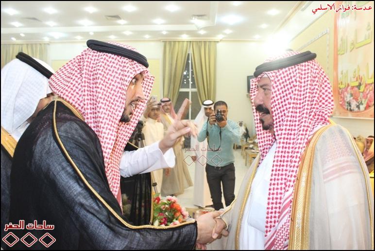 سمو الامير عبدالعزيز بن عبدالرحمن بن محمد ال سعود  مع الامیر شیخ فیصل بن عجمی ال سویط