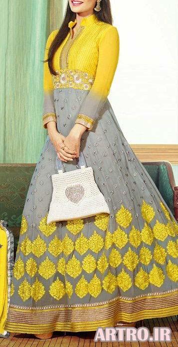 شیکترین مدل لباس مجلسی هندی 2018