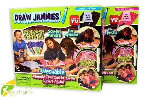ماژیک لباس جادویی DRAW JAMMIES - ماژیک و تیشرت جادویی