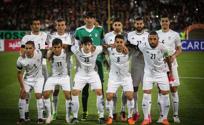 ترکیب تیم ملی ایران مقابل کره جنوبی در دیدار برگشت  96/6/9