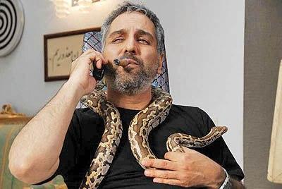 حیوان خانگی عجیب مهران مدیری!+عکس