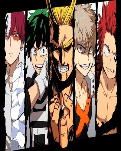 دانلود فصل اول انیمه جدید Boku no Hero Academia با کیفیت عالی