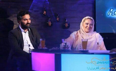 دانلود تی وی پلاس بهاره رهنما و همسرش امیرخسرو عباسی