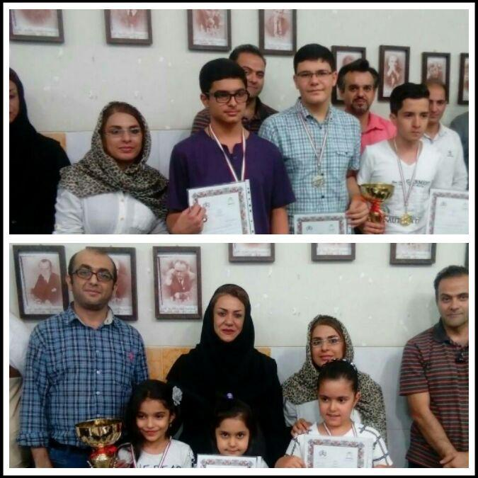 درخشش شطرنجبازان کازرونی در مسابقات قهرمانی رده سنی زیر 18 سال استان فارس