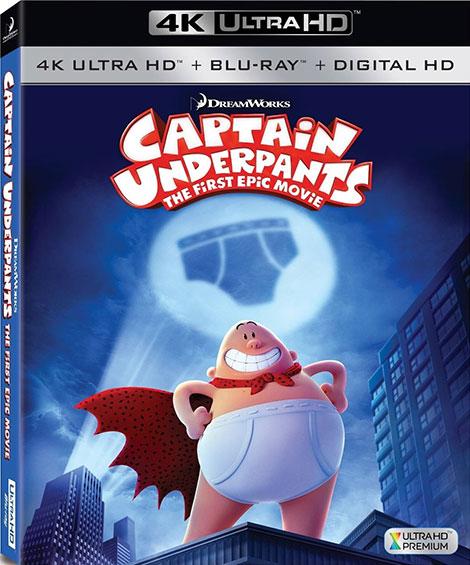 دانلود دوبله فارسی انیمیشن Captain Underpants 2017