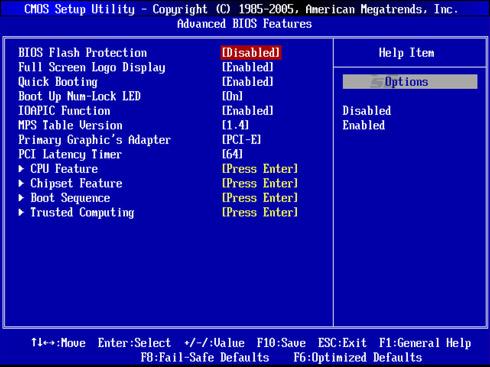 آموزش تنظیمات بایوس سیستم BIOS Setup