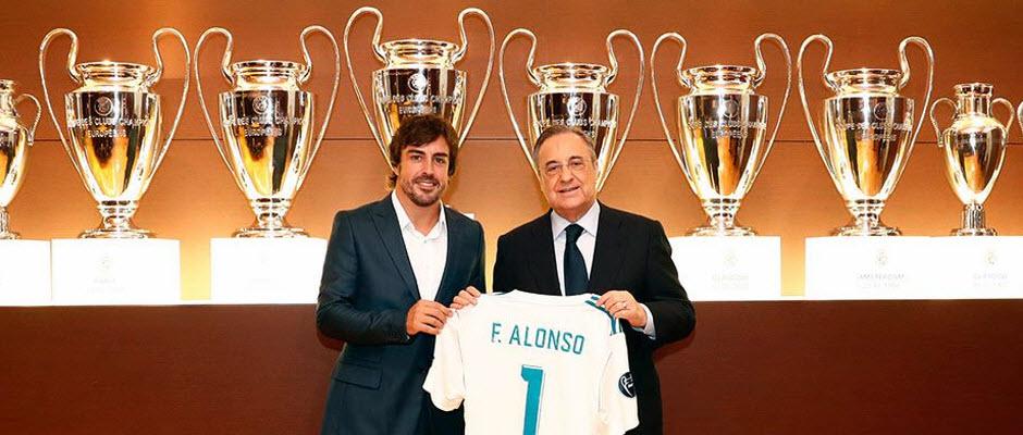 فرناندو آلونسو، راننده فرمول یک: از کودکی طرفدار رئال مادرید بودم