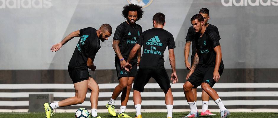 بازگشت مارسلو به تمرینات رئال مادرید