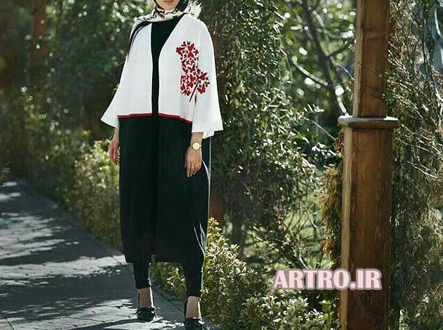 جدیدترین مدل مانتو کیمونو 2017