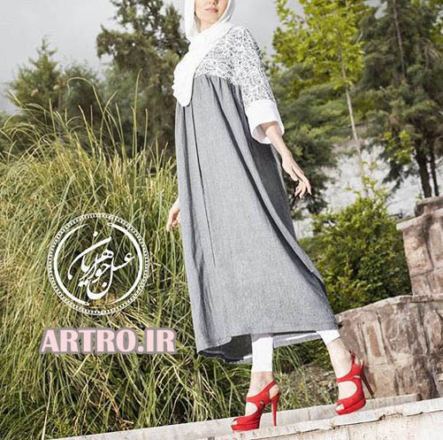 مدل مانتو نخی دخترانه 2018