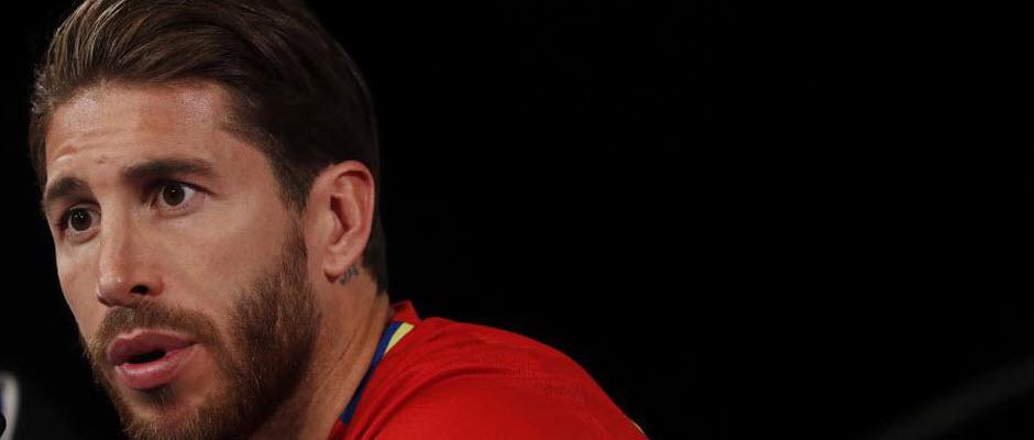 سرخیو راموس پس از سه سال، بار دیگر برای اسپانیا گلزنی کرد