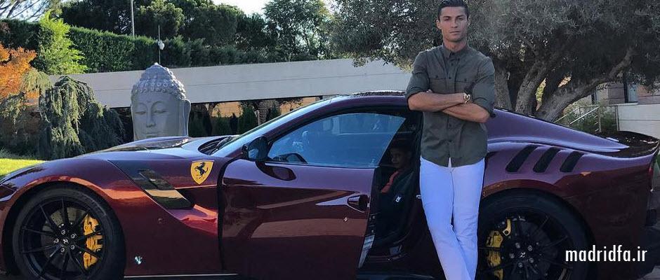 بازگشت کریستیانو رونالدو با سوپر فراری جدید