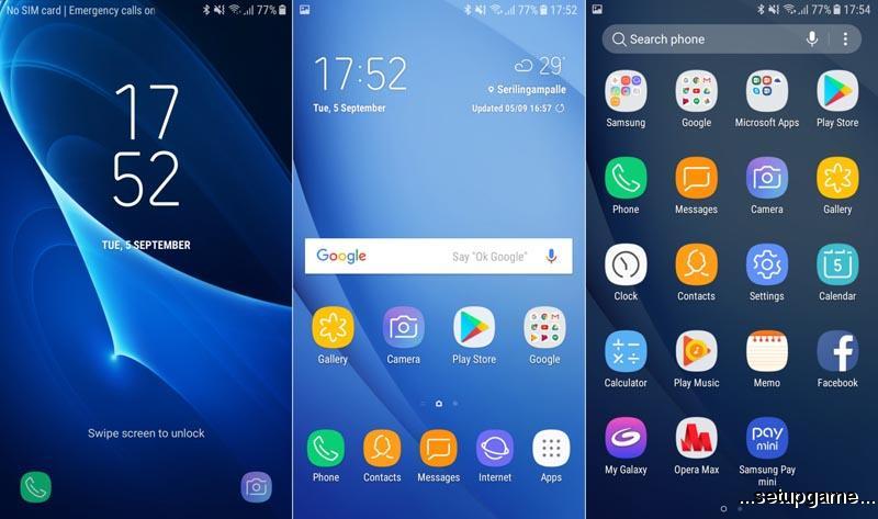 رابط کاربری جدید (Galaxy J5 (2016 و (Galaxy J7 (2016 در اندروید 7