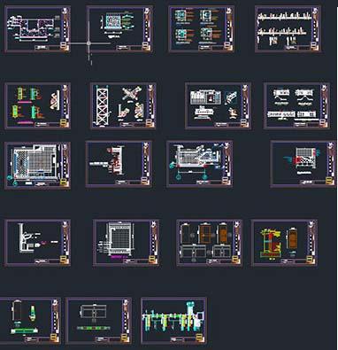 دانلود پروژه طراحی فنی ساختمان 4 طبقه
