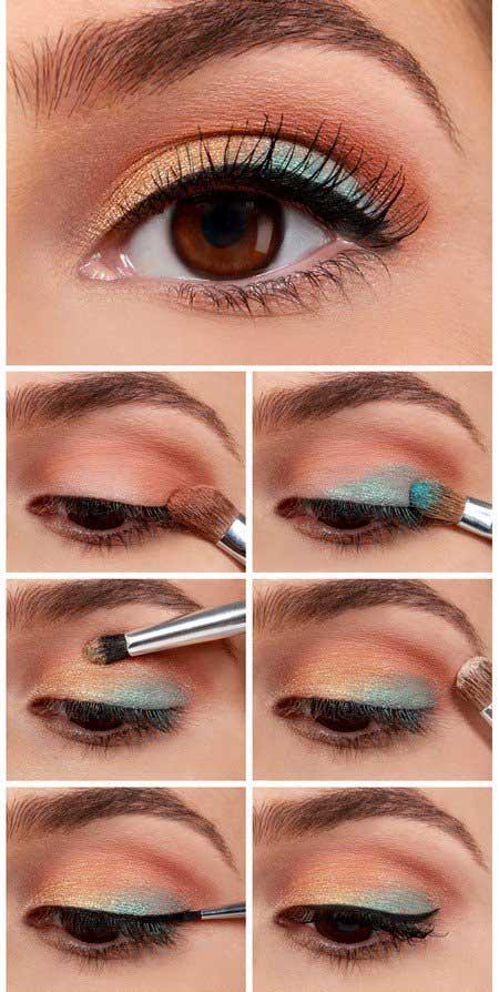 آرایش چشم زیبا,آموزش آرایش چشم