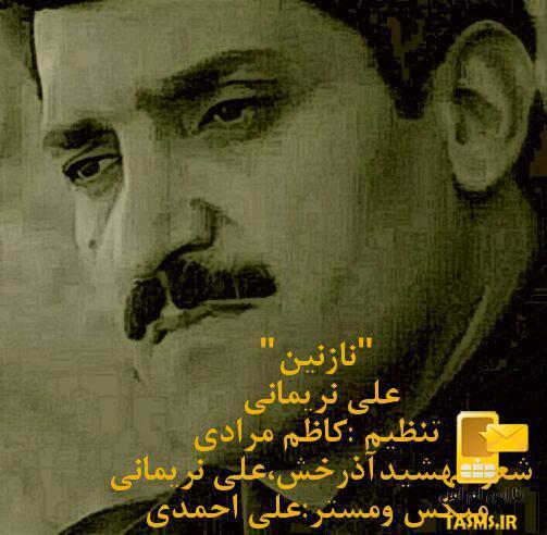 آهنگ جدید علی نریمانی به نام نازنین