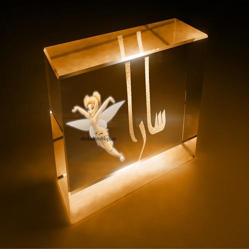 عکس شیشه ای اسم سارا - عکس کده