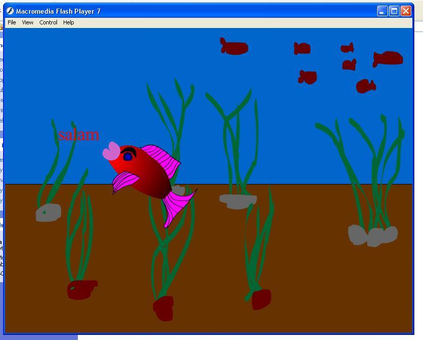 خرید پروژه ی فلش ماهی به همراه سورس فایل