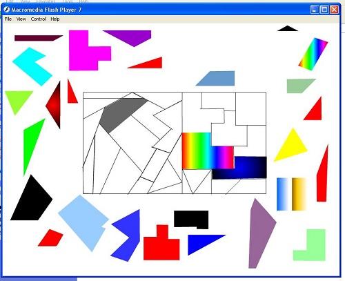 خرید پروژه فلش پازل رنگی به همراه فایل سورس