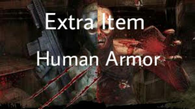 دانلود اکسترا ایتم Human Armor برای کانتر 1.6 زامبی