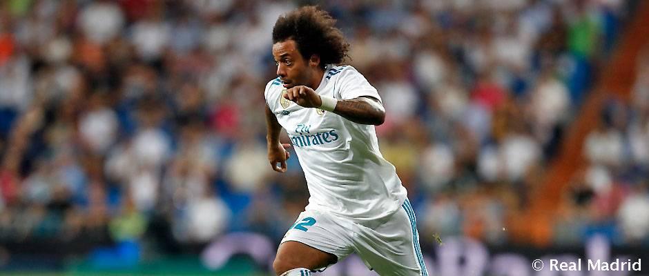 احتمال محرومیت چهار تا دوازده جلسه ای مارسلو از همراهی رئال مادرید