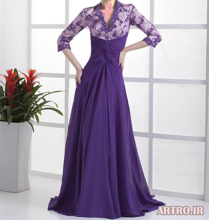 مدل لباس مجلسی بلند 97