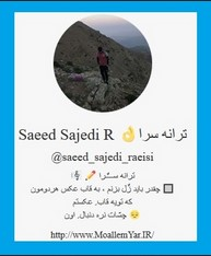Instagram Profile (@Saeed Sajedi R)