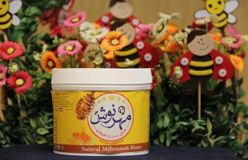 شهد عسل استاندارد مهرنوش با ساکارز زیر 5 گرم درصد