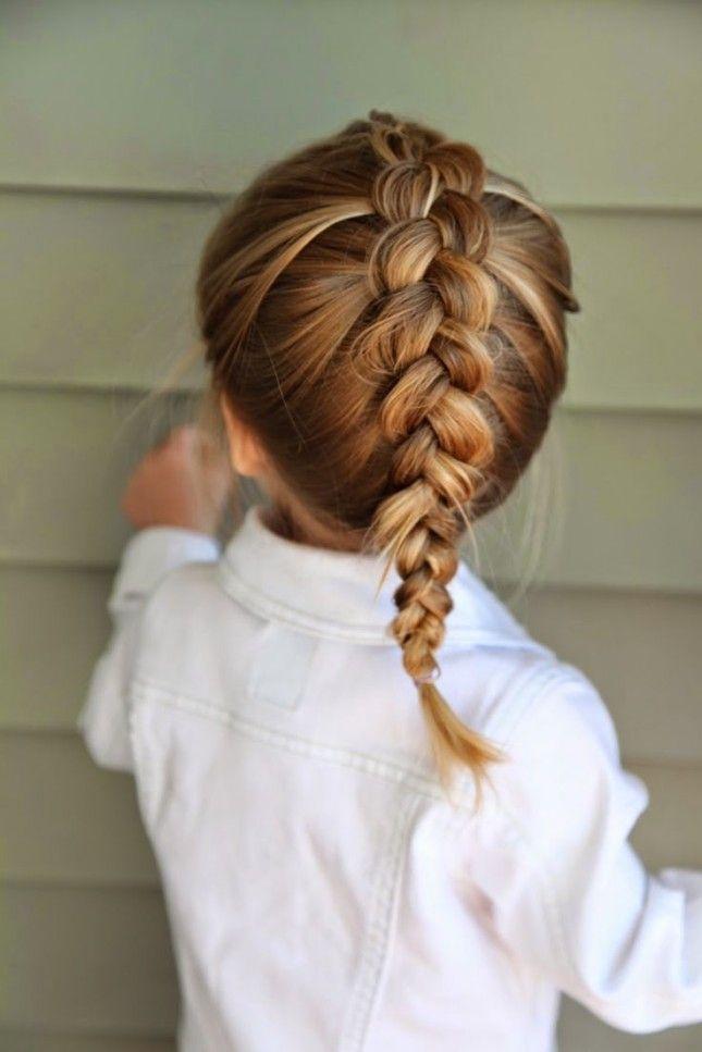آموزش بستن مو دختربچه 2018