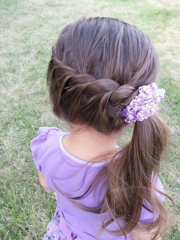 آموزش بستن مو دختربچه2017