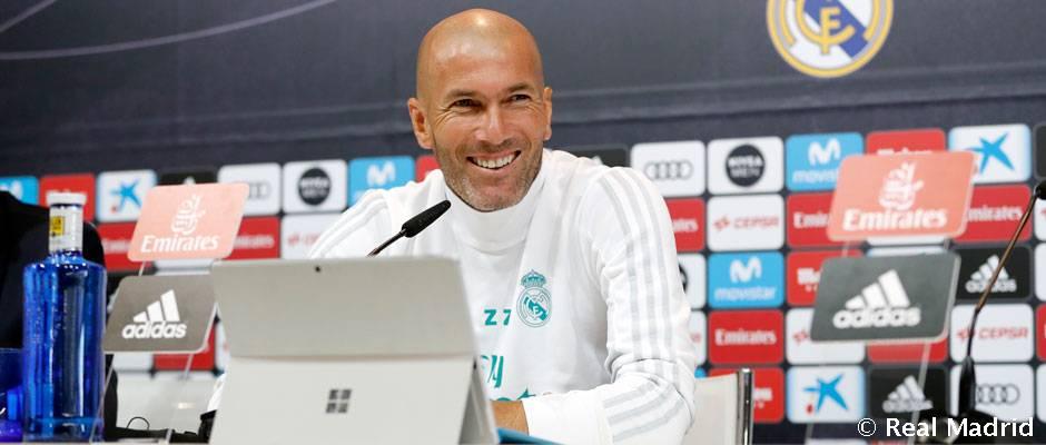 اعتراف تلخ زیدان به کمبود مهاجم در رئال مادرید