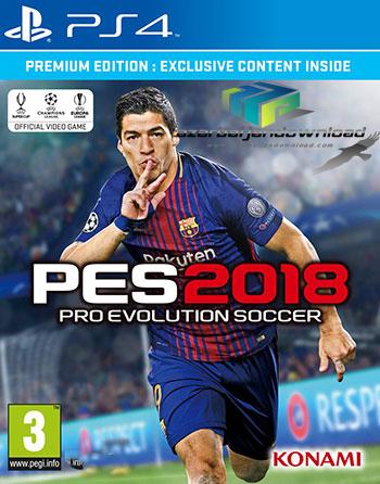 دانلود بازی Pro Evolution Soccer 2018 برای PS4