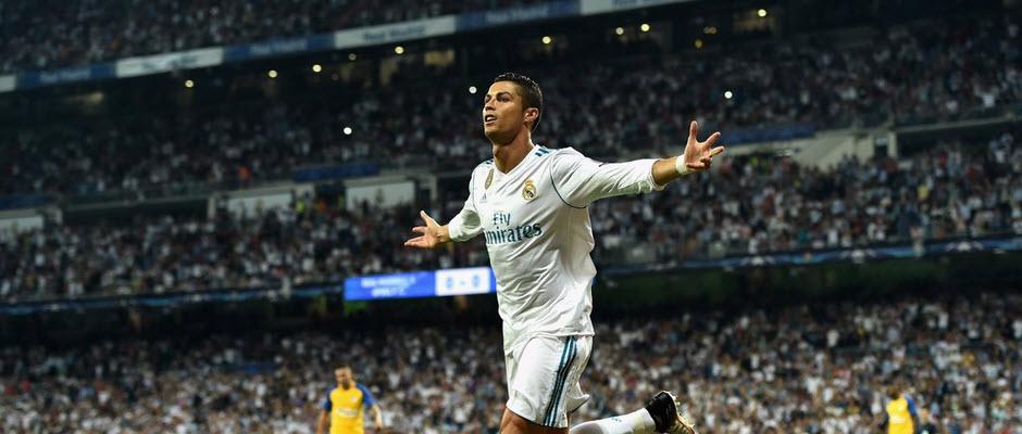 رونالدو رکورد دار گلزنی از روی نقطه پنالتی در لیگ قهرمانان اروپا شد