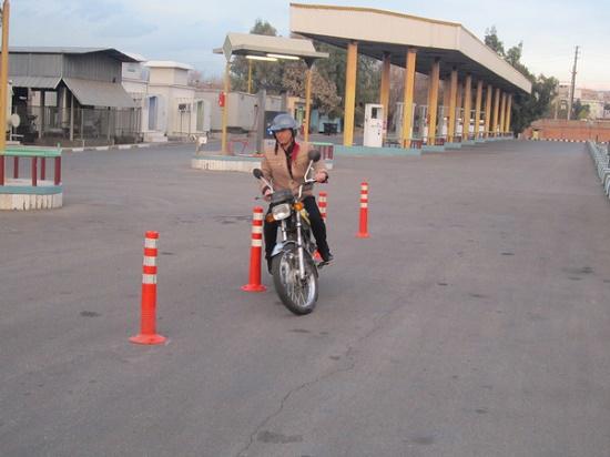گواهینامه موتورسیکلت