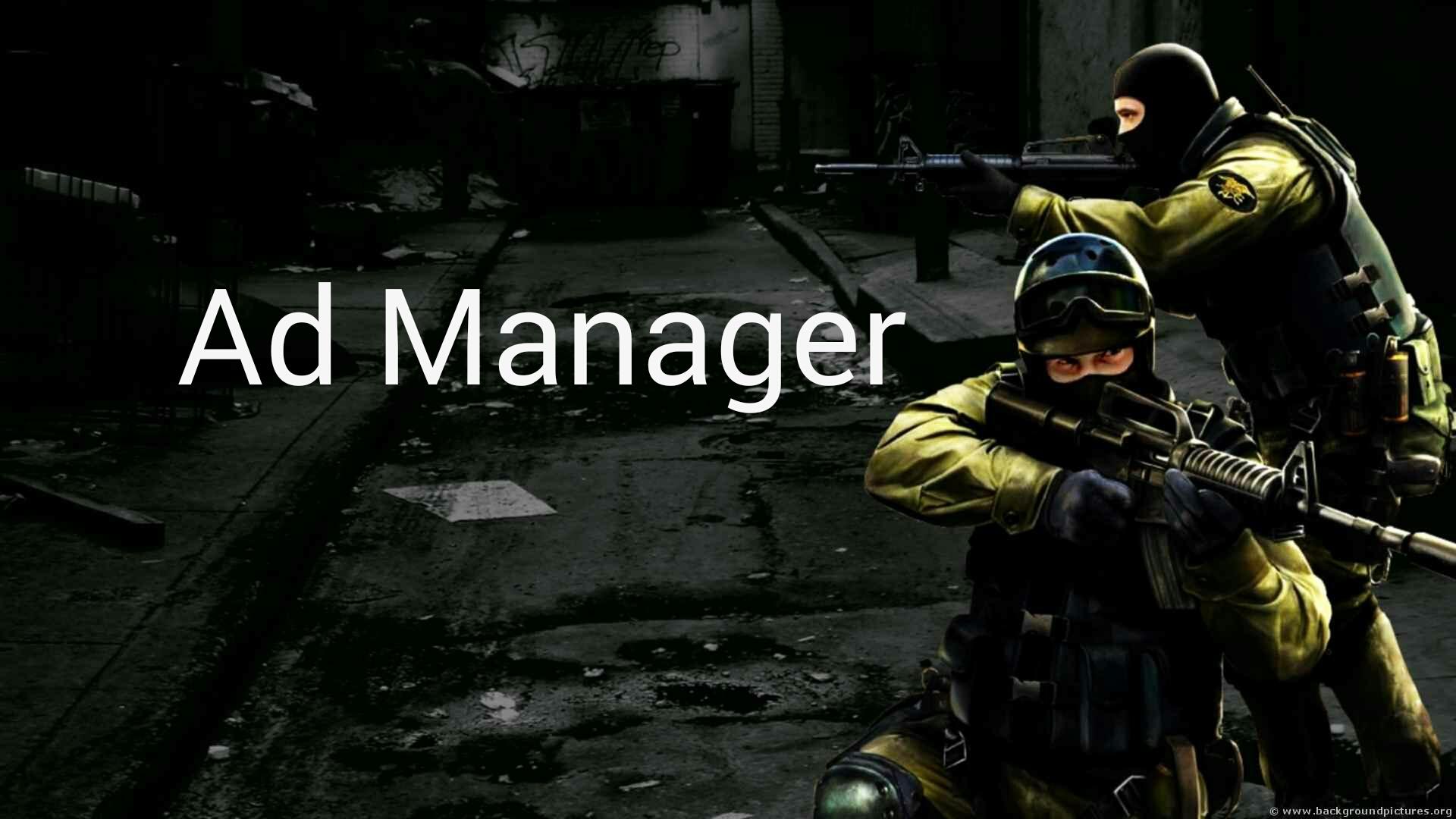 دانلود پلاگین Ad Manager برای کانتر 1.6
