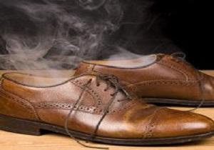 خوشبو کردن پاها و کفش ها