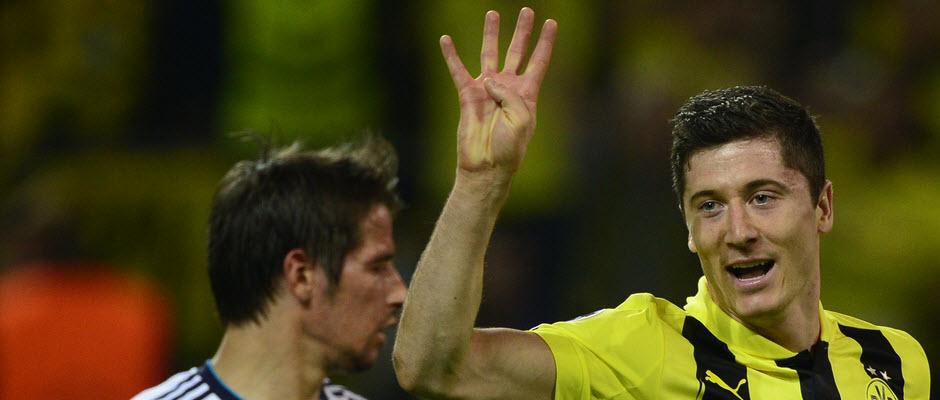 ادعای AS : تلاش لواندوفسکی برای پیوستن به رئال مادرید