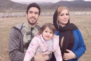 عکس و متن لاله شفیع زاده همسر خسرو حیدری برای تولد 34 سالگی وی