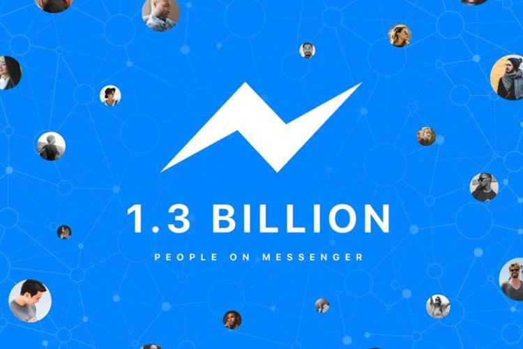 فیسبوک مسنجر ۱.۳ میلیارد نفر کاربر دارد