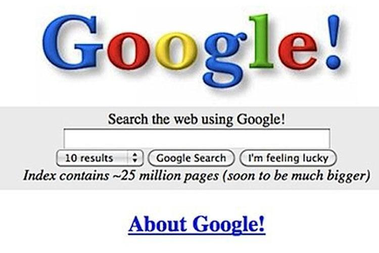 دامنه گوگل ۲۰ ساله شد