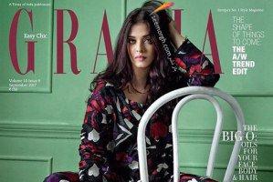 عکس های جدید آیشواریا رای روی یک مجله مد ایتالیایی