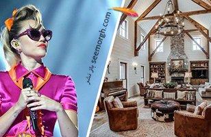 دکوراسیون داخلی خانه مایلی سایرس