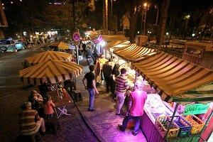 خیابان سی تیر شب ها بسته می شود/ راه اندازی غذا های خیابانی در تهران