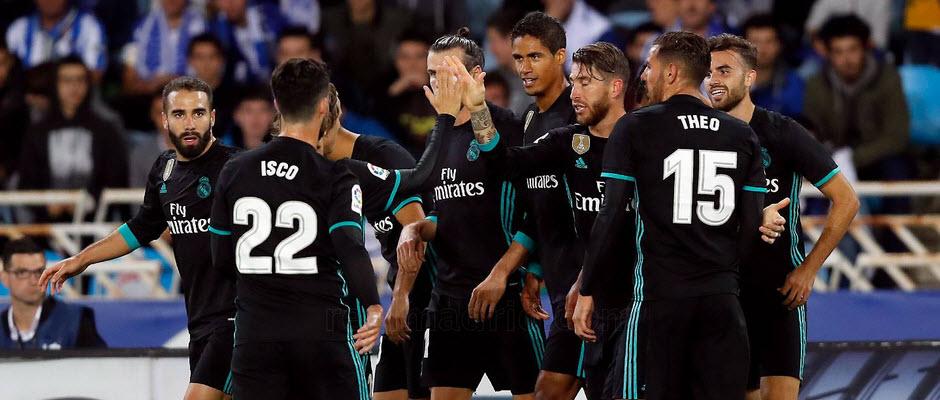 رئال سوسیداد 1-3 رئال مادرید؛ بازگشت به مسیر پیروزی با درخشش مایورال