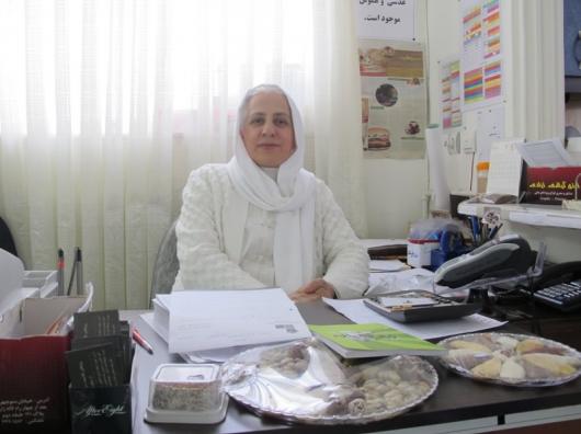 مصاحبه با خانم مریم حسینی، مدیر انجمن تغذیه طبیعی